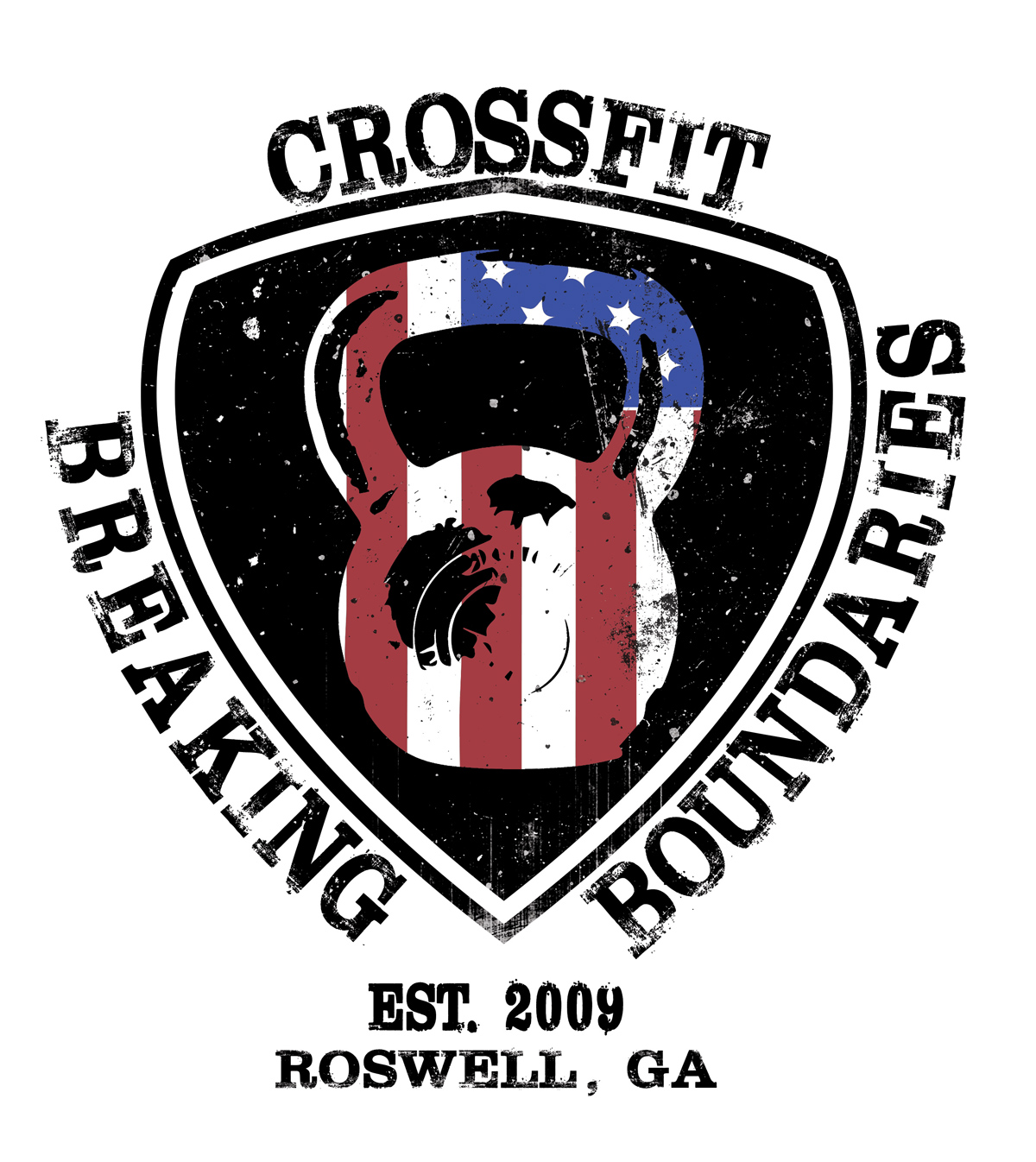 CrossFit Breaking Boundaries Logo