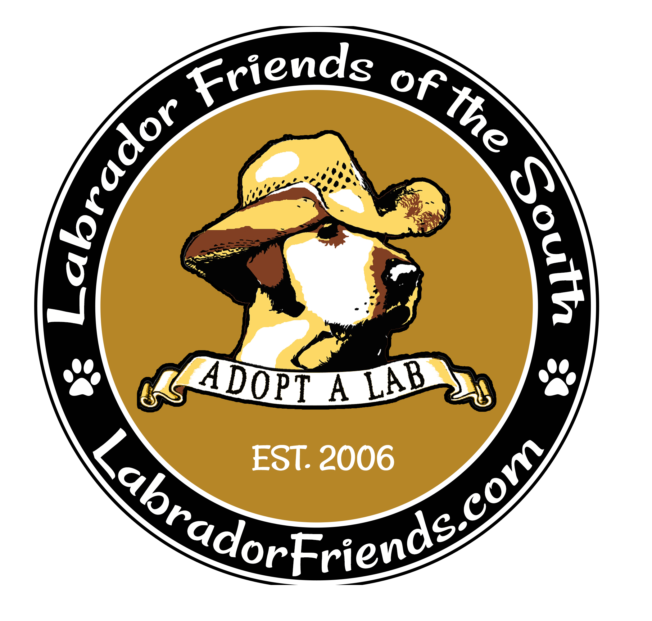Labrador Friends of the South Logo Rebrand