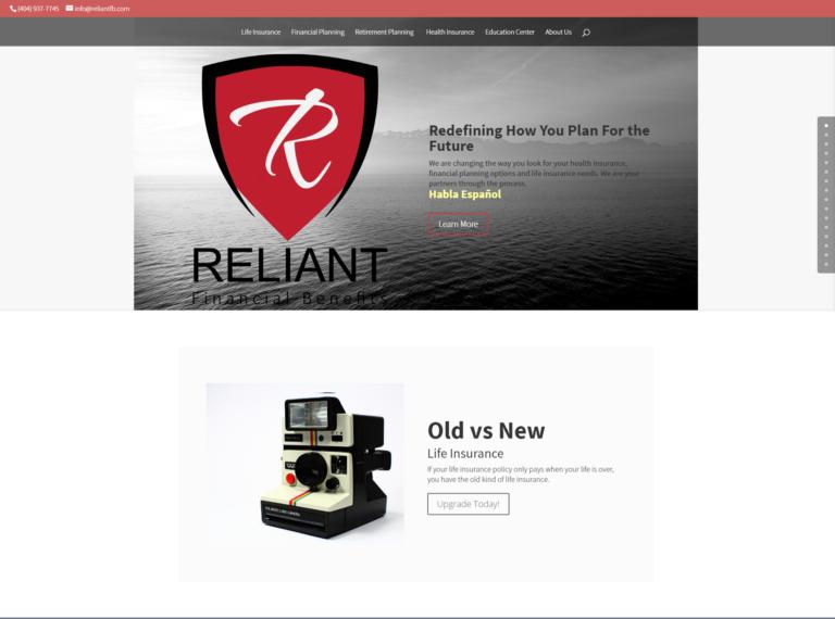 Reliant Financial Benefits Website