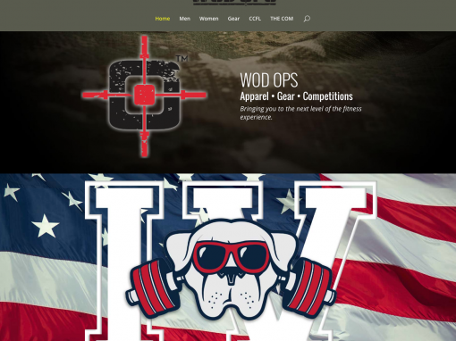 WODOPS APPAREL | Website Design